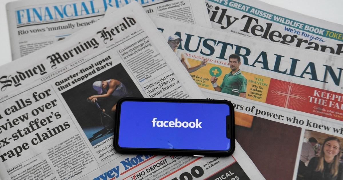 www.aljazeera.com: Australia: Facebook has 'tentatively friended' us again