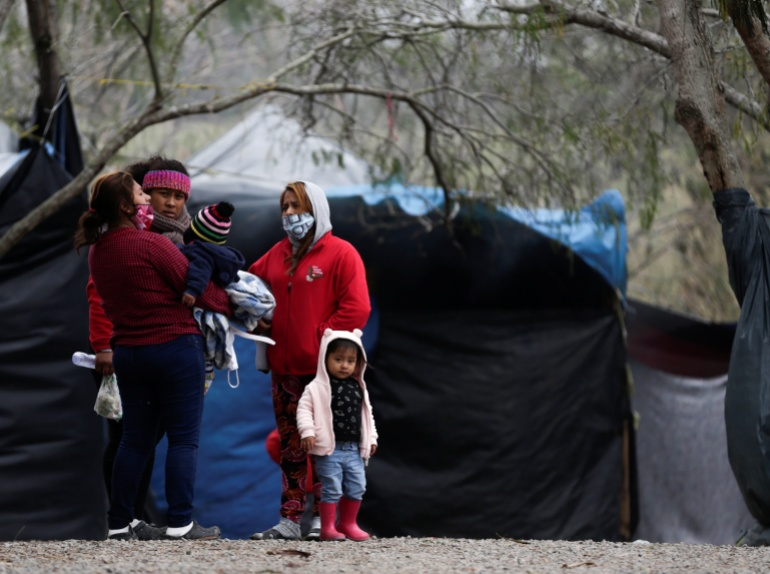 First batch of asylum seekers waiting in Mexico allowed into US   Donald Trump News