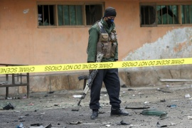 One among the dead and 11 of the injured were Afghan Security Forces personnel while the remainder were civilians, including women and children [File: Omar Sobhani/Reuters]