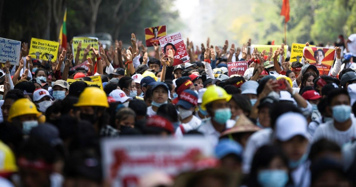 AS menjatuhkan sanksi kepada dua jenderal tambahan Myanmar setelah menyampaikan tindakan keras thumbnail