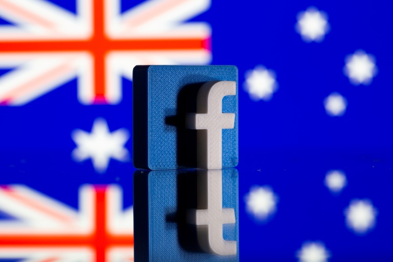 Facebook has been in a standoff with Australia over plans to make big tech platforms pay news organisations for their content [File: Dado Ruvic/Illustration/Reuters]