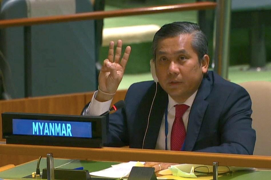 Myanmar army fires ambassador to the UN after anti-coup speech | Politics  News | Al Jazeera