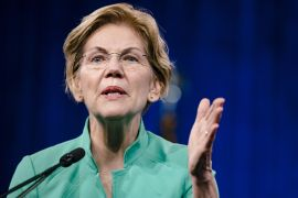 United States Senator Elizabeth Warren's appointment to the Senate Committee on Finance will give the Massachusetts Democrat more ability to exercise influence over tax increases, which are a key priority for President Joe Biden as he looks to raise levies on corporations and wealthy Americans [File: Bloomberg]