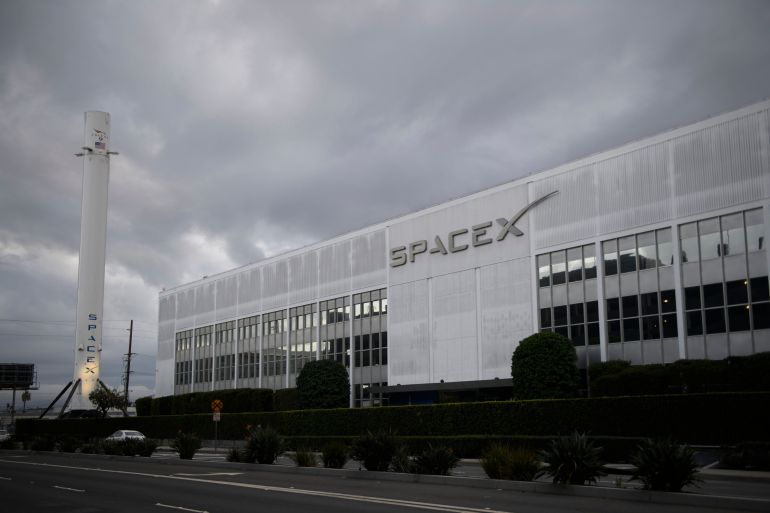 SpaceX placed 60 more satellites in orbit on Thursday to beam broadband service to rural and underserved parts of the United States, with another batch set for launch from a Florida facility Friday, according to the company's Twitter feed [File: Patrick T Fallon/AFP/Getty Images]