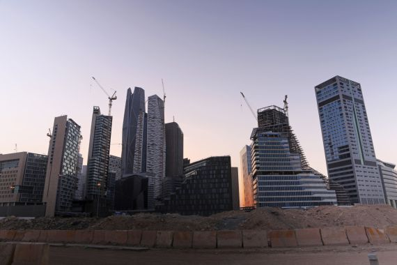 A group of 24 international firms including Deloitte, PricewaterhouseCoopers, Bechtel and PepsiCo announced they were moving their regional headquarters to the kingdom at an annual investment conference organised by Saudi Arabia's sovereign wealth fund last month [File: Maya Anwar/Bloomberg]