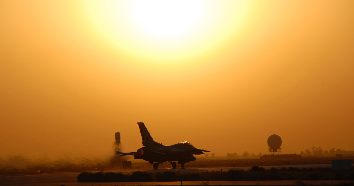 Multiple rockets hit Iraqi airbase, wounding two soldiers