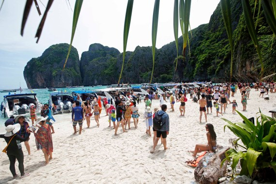 In 2018, Thailand closed Maya Bay to tourists indefinitely until its ecosystem returns to its full condition [AP/Sakchai Lalit]