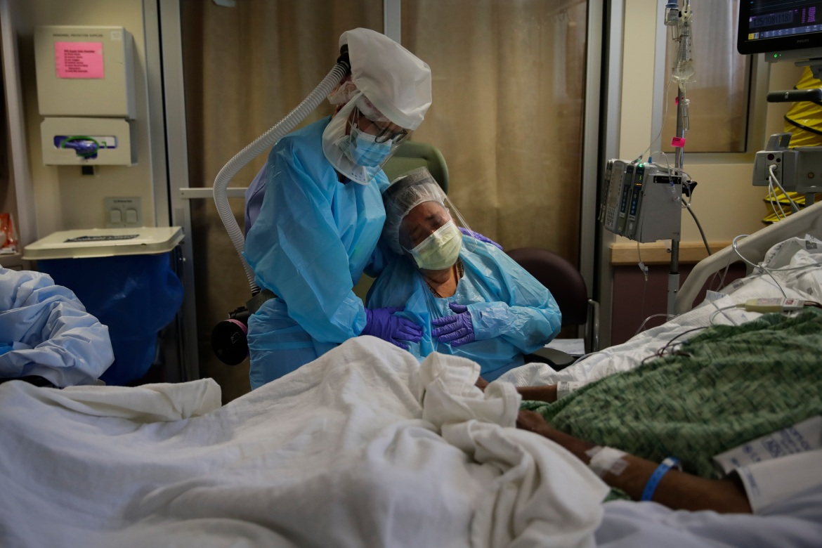 The United States has surpassed a horrifying milestone of 500,000 deaths from COVID-19 - more than any nation in the world. [Jae C. Hong/AP Photo]