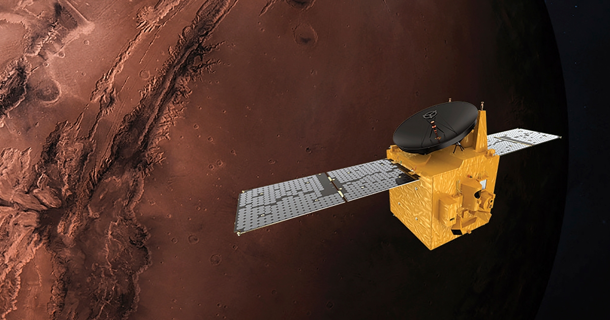 2021-02-09 18:57:26   UAE's space probe Amal enters Mars orbit   Business and Economy News