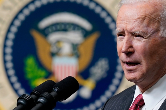President Joe Biden first phone call to a Middle East leader will be to Benjamin Netanyahu, the White House announced on Tuesday [File: Patrick Semansky/AP Photo]