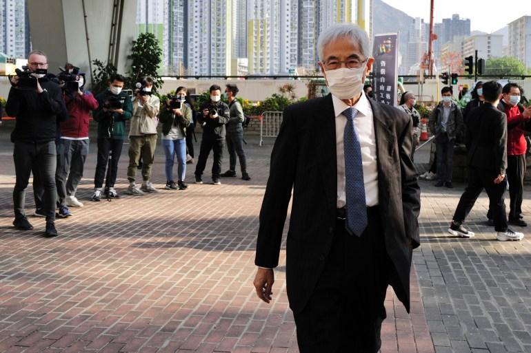 Nine Hong Kong activists go on trial over huge democracy rally | Hong Kong Protests News