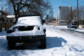 A deadly winter storm that knocked power out for millions across the US state of Texas has prompted widespread calls for accountability [File: Ashley Landis/AP Photo]