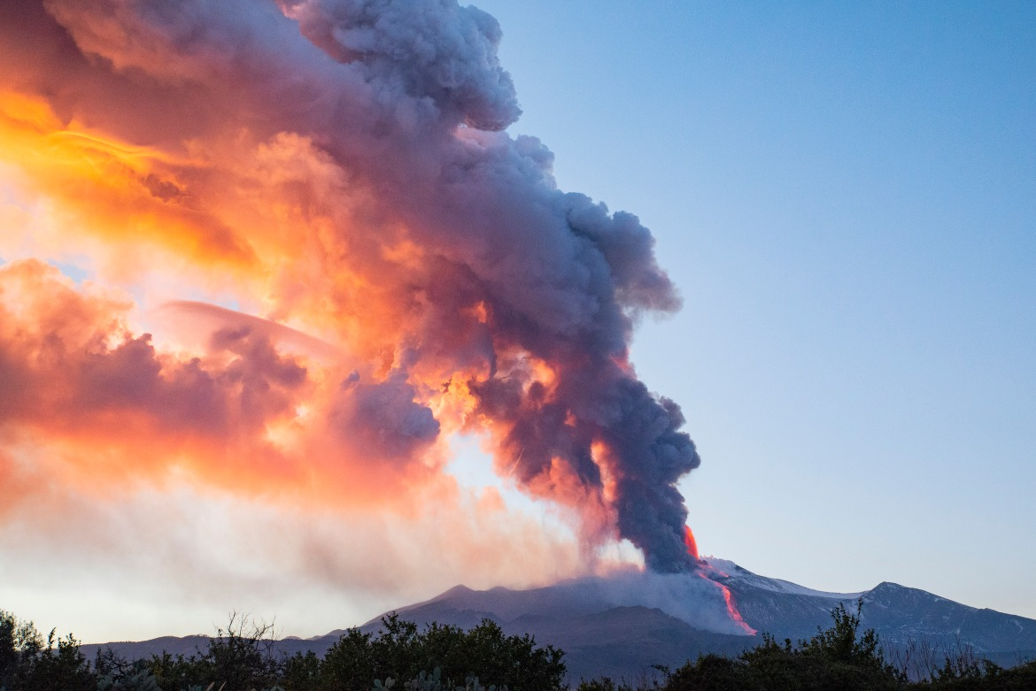 As the volcanic activity was largely expected, the site was properly secured and there were no reported casualties. [Salvatore Allegra/AP Photo]
