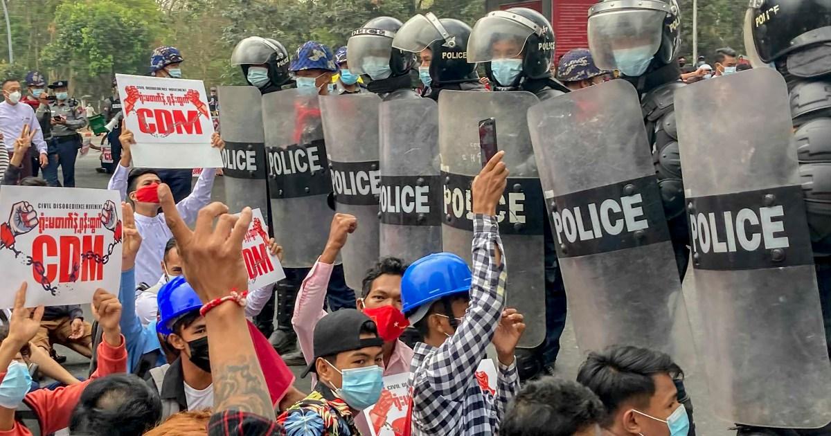 Hampir 500 orang ditahan di Myanmar, peretas menargetkan halaman web milisi thumbnail