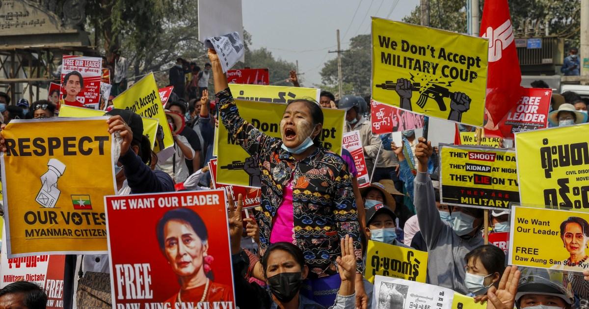Nearly 500 detained in Myanmar hackers target military websites – Al Jazeera English
