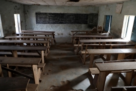 The mass kidnapping of students began with the armed group Boko Haram, which abducted 270 girls in 2014 in northeast Nigeria [File: AP]