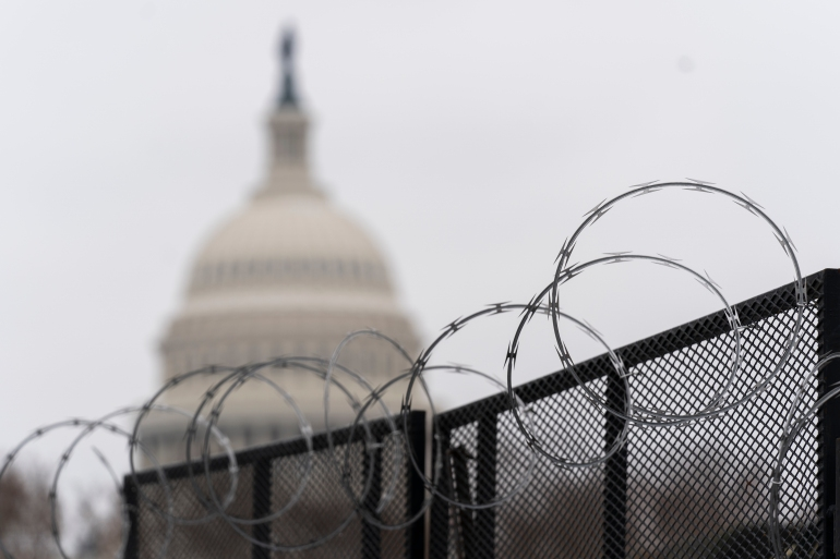 The US Congress is probing security failures that led to the breach of the Capitol on January 6 [File: Manuel Balce Ceneta/The Associated Press]