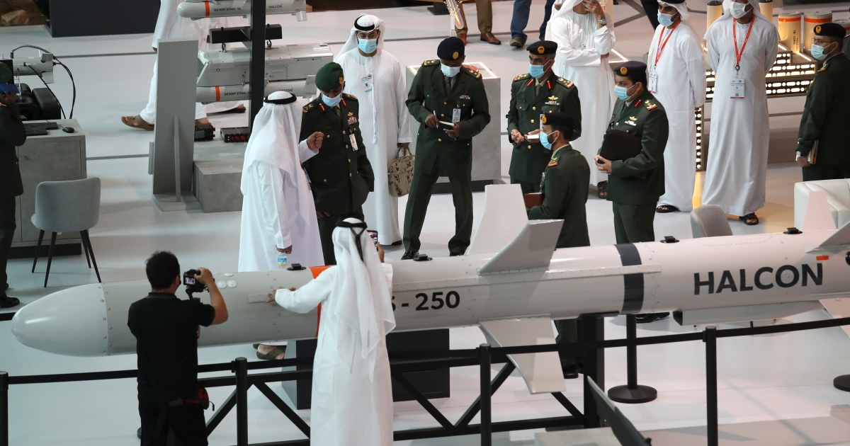 UAE unveils .36bn in arms offers at Abu Dhabi weapons present