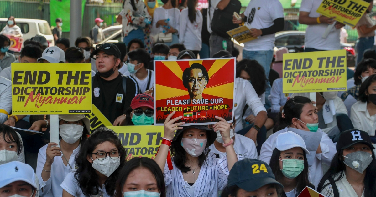 Myanmar set for extra protests, as Indonesia steps up diplomacy