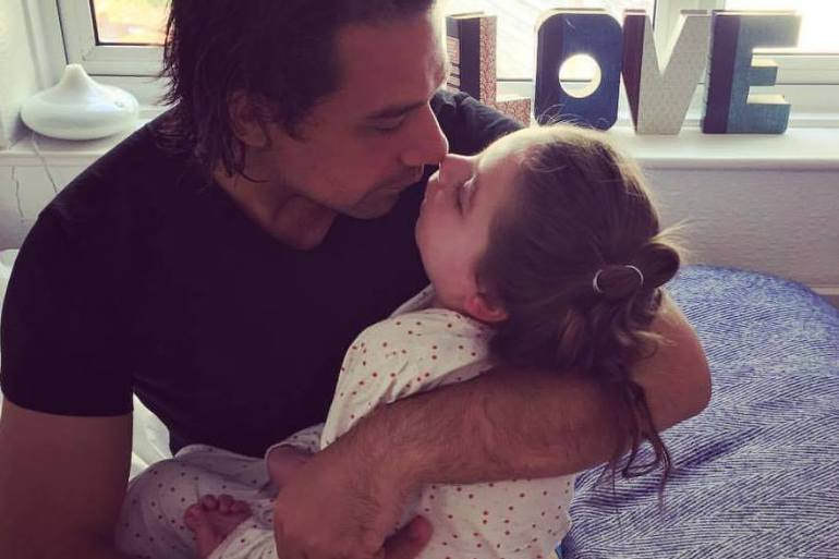 Daniel Lewi with his daughter Amelie [Photo courtesy of Daniel Lewi]