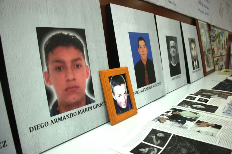 A transitional peace court has concluded that more than 6,400 civilians were extrajudicially killed by the Colombian military between 2002 and 2008 [File: Christina Noriega/Al Jazeera]