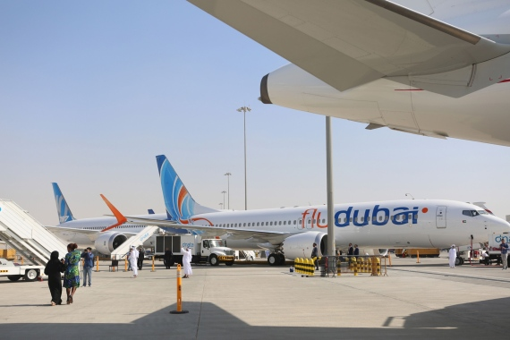 Clearance in the United Arab Emirates is important for Boeing because the country serves as an international air-travel crossroads via hub airports in Dubai and Abu Dhabi [File: Bloomberg]