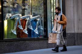 United States retail sales surged in January, prompting economists to boost their first-quarter growth estimates to as high as a 6 percent annualised rate from as low as a 2.3 percent pace [File: Brendan McDermid/Reuters]