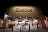 Costco, which has over 180,000 employees in the United States, has seen sales boom during the COVID-19 pandemic as consumers stocked up their pantries [File: Mohammad Khursheed/Reuters]