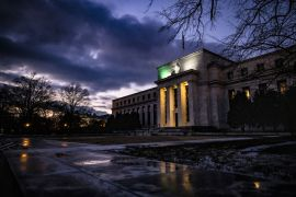 The outage at the United States Federal Reserve follows two significant disruptions to its payment services that occurred in 2019 [File: Samuel Corum/Bloomberg]