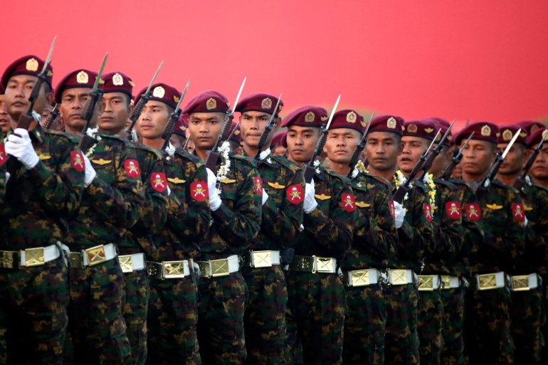 The February 1 coup has put the spotlight on the sprawling business interests of Myanmar's military [File: Hein Htet/EPA]