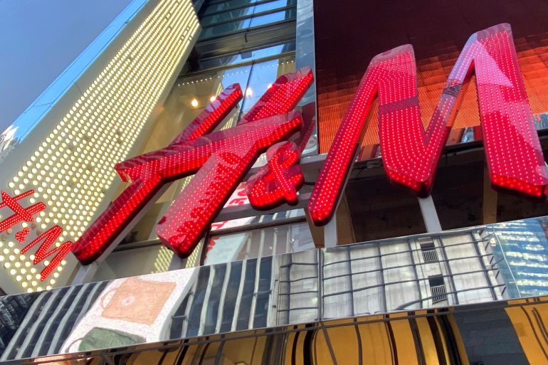 'Any future relationship with this supplier will entirely depend on the result of that investigation', H&M said in a statement [File: Mike Segar/Reuters]
