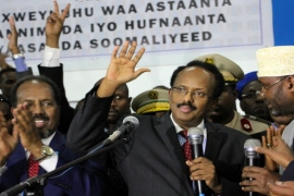 Who is in charge in Somalia?
