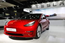Tesla CEO Elon Musk has said before that Tesla's cars are too expensive and the company has a history of enacting price cuts and incentives to drive deliveries during critical quarters [File: Bloomberg]