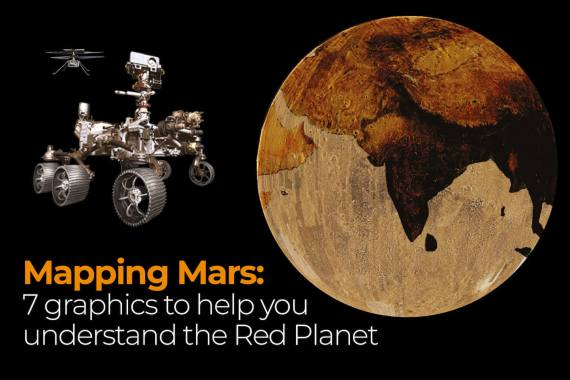 Mapping Mars: 7 graphics to help you understand the Red Planet