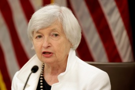 United States Treasury Secretary Janet Yellen called on Group of 20 nations to work with a coalition of countries to ensure greater transparency and accountability in how the International Monetary Fund's Special Drawing Rights are exchanged and used [File: Joshua Roberts/Reuters]