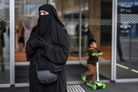 Practically no one in Switzerland wears a burqa and only about 30 women wear the niqab [File: Fabrice Coffrini/AFP]