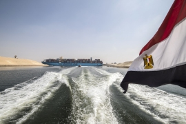 The canal remains one of Egypt's top foreign currency earners. [File: Khaled Desouki/AFP]