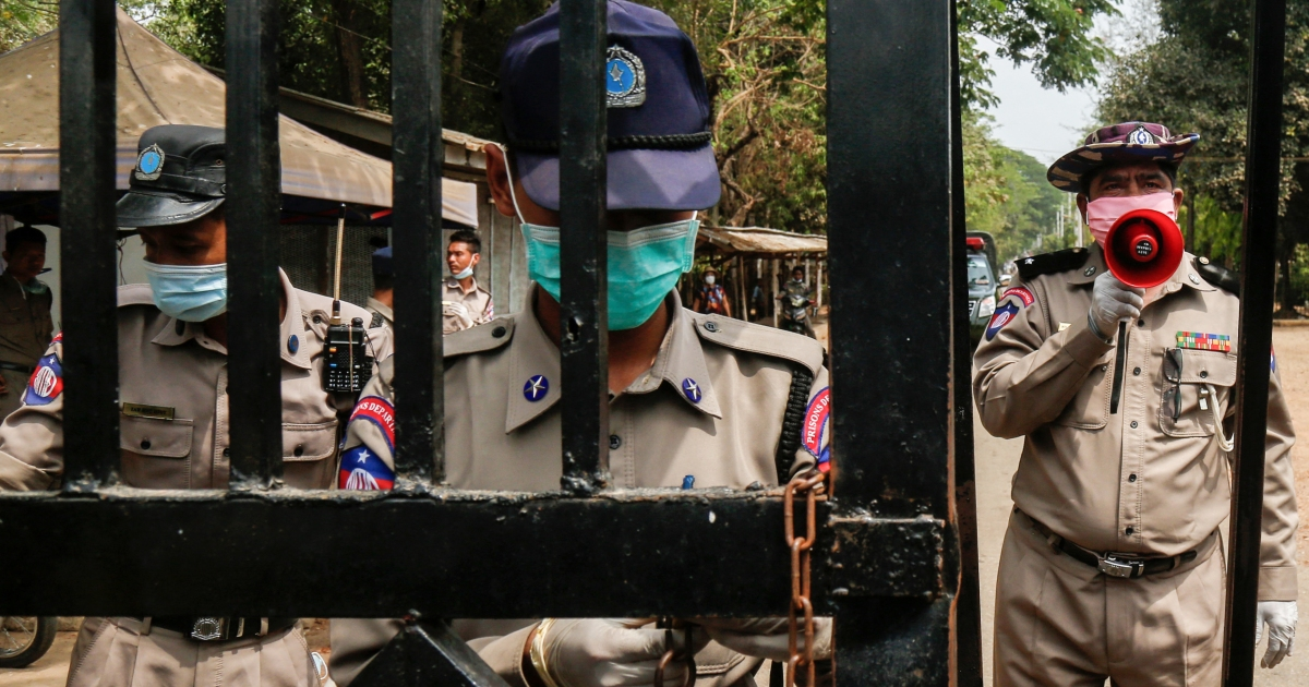 Protest erupts at Myanmar's Insein prison amid COVID outbreak - aljazeera