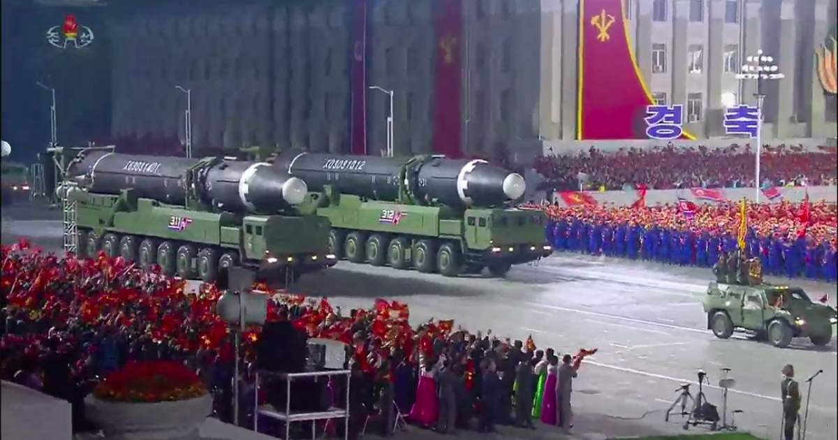 North Korea carries out suspected ballistic missile launch | Military News