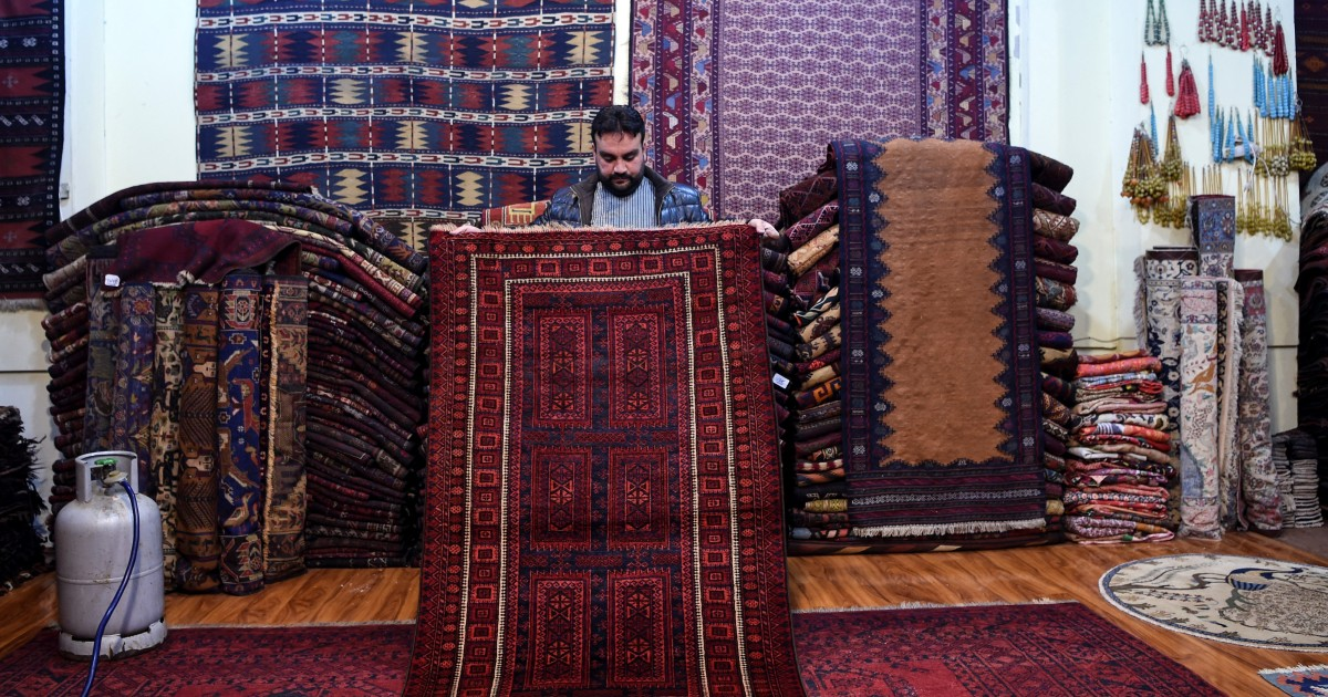 In Pictures: Risking death in search for antique Afghan carpets