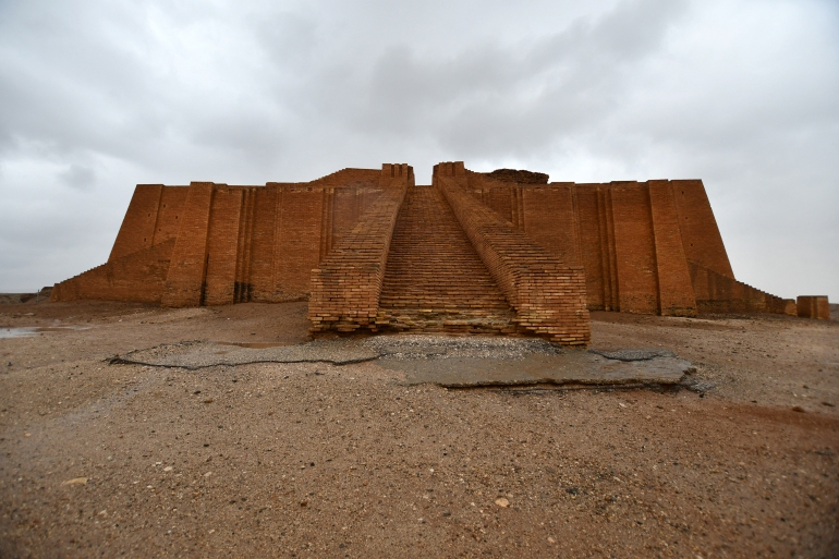 The Great Ziggurat temple in the ancient city of Ur in southern Iraq's Dhi Qar province [File: Asaad Niazi/AFP]