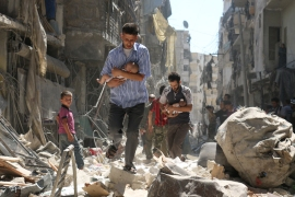 Many have argued that Syria is not a safe country for refugees to return to, as Bashar al-Assad continues to maintain power [File: Ameer al-Halbi/AFP]