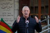 The remarks by Benny Gantz come as US President Joe Biden's administration considers rejoining the 2015 Iran nuclear deal [File: Jalaa Marey/AFP]