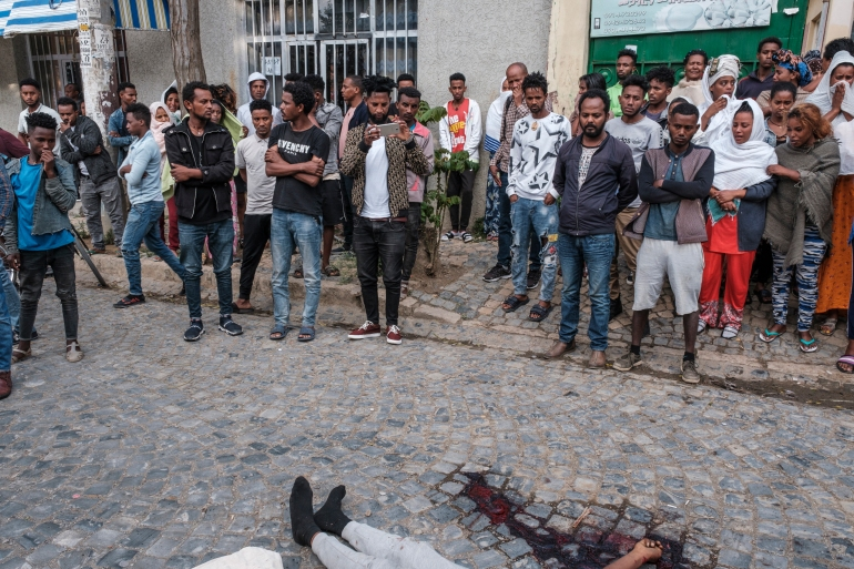 Heads of nine UN agencies and other officials demanded a halt to attacks against civilians in Tigray, 'including rape and other horrific forms of sexual violence' [File: Eduardo Soteras/AFP]