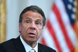 A member of the Sexual Harassment Working Group described Cuomo's comments as 'insulting' [File: Johannes Eisele/AFP]