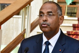 Patrick Achi appointed while the country's Prime Minister Hamed Bakayoko is in Europe receiving medical treatment [File: Sia Kambou/AFP]