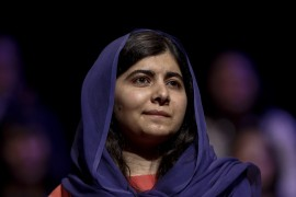 Yousafzai was awarded the Nobel Peace Prize as a 17-year-old in 2014 [File: Miguel Schincariol/AFP]