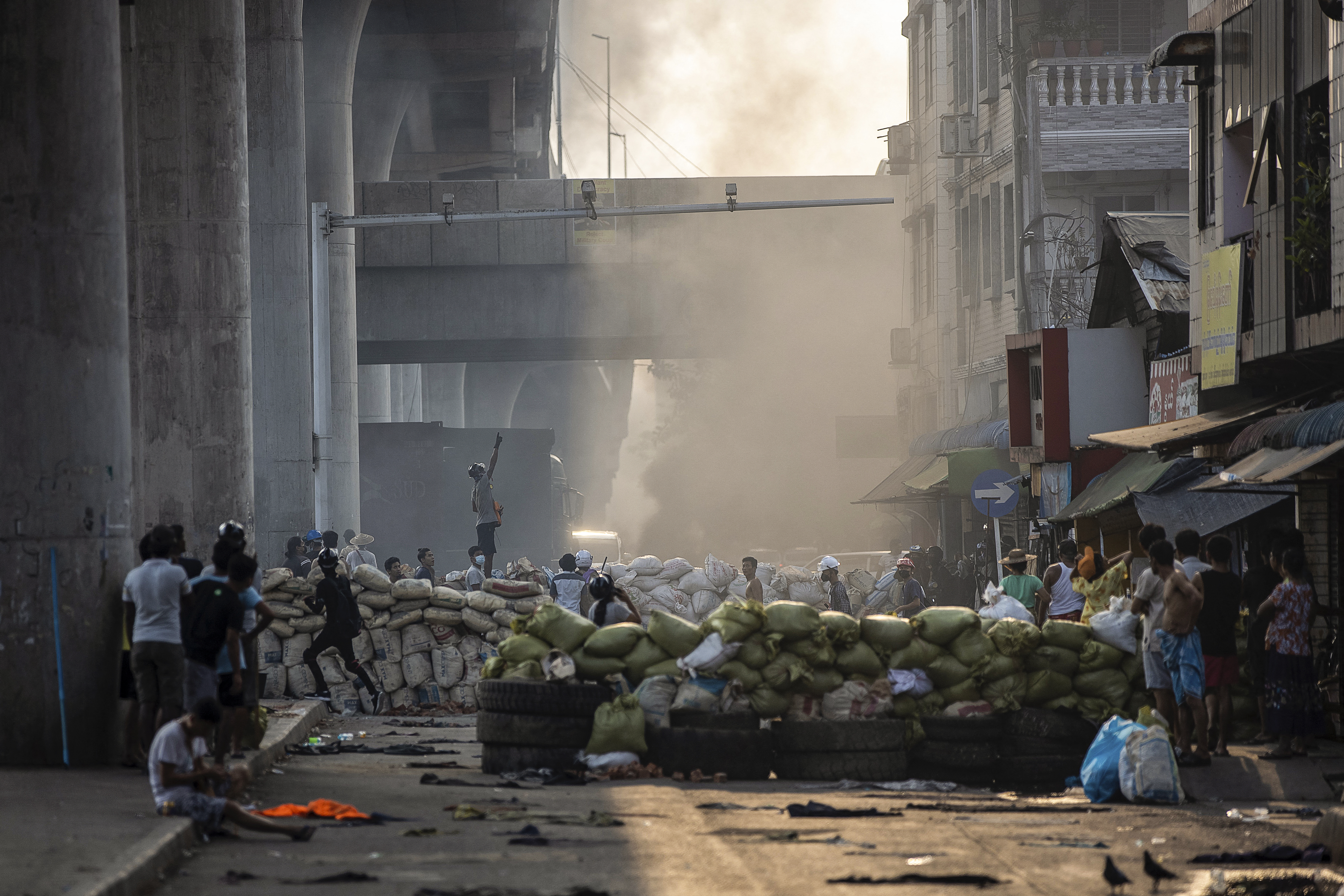 """Martial Law Announced in Parts of Myanmar's Largest City"""""""