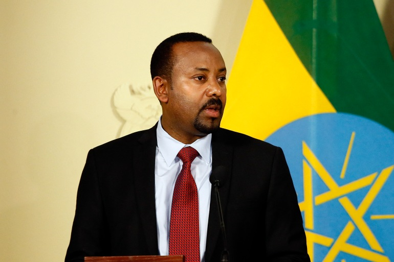 The statement by Abiy comes after intense pressure from the United States and others to address the deadly crisis in Tigray [File: Phill Magakoe/AFP]