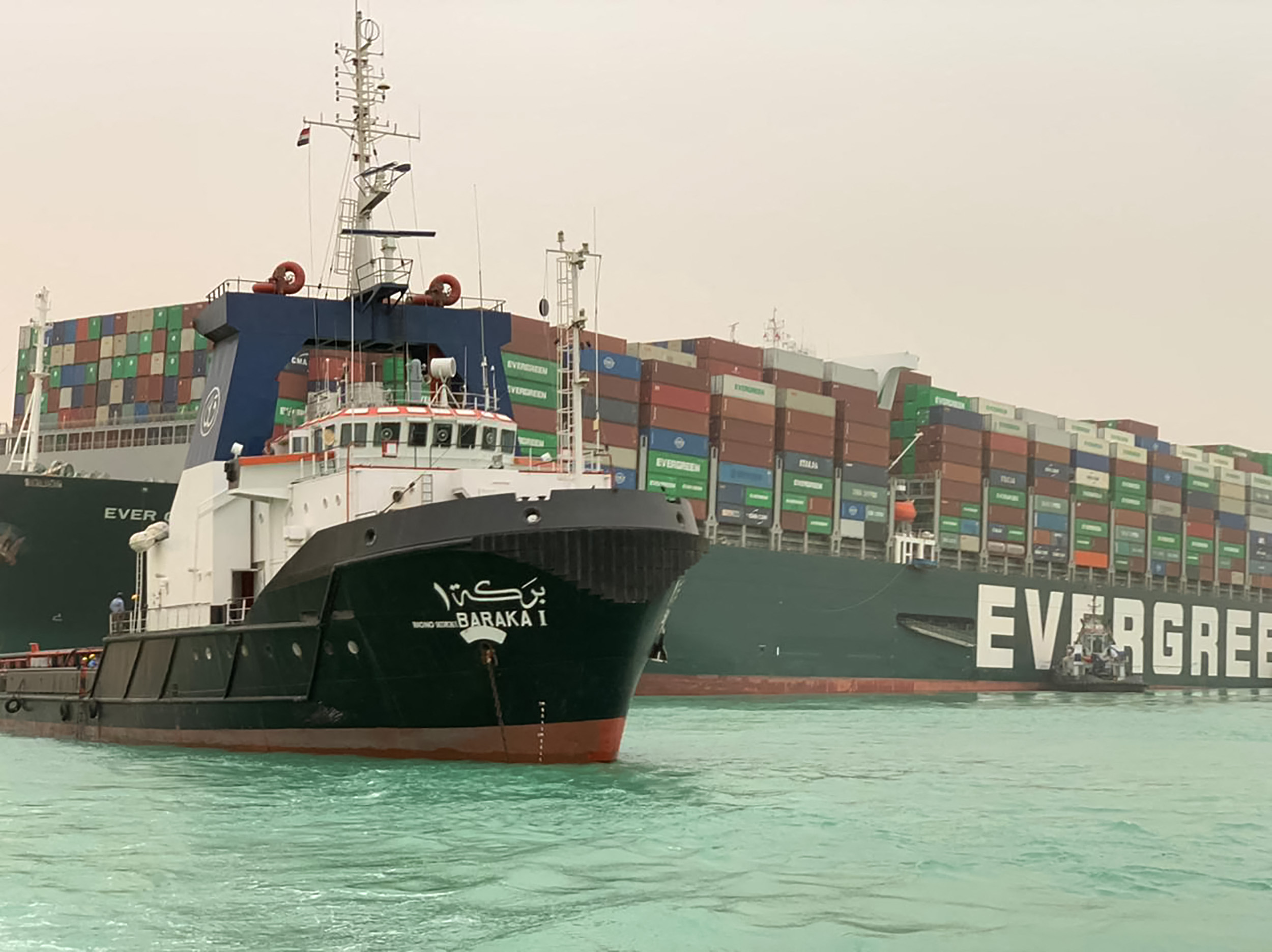 Suez Canal traffic resumes after stranded container ship freed